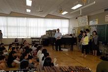 小学生吹奏楽クリニック・西砂小