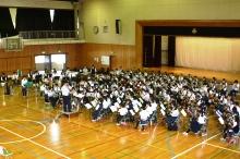 中学生吹奏楽クリニック03