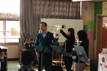 小学生吹奏楽クリニック・七小