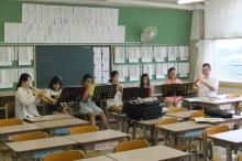 小学生吹奏楽クリニック・四小